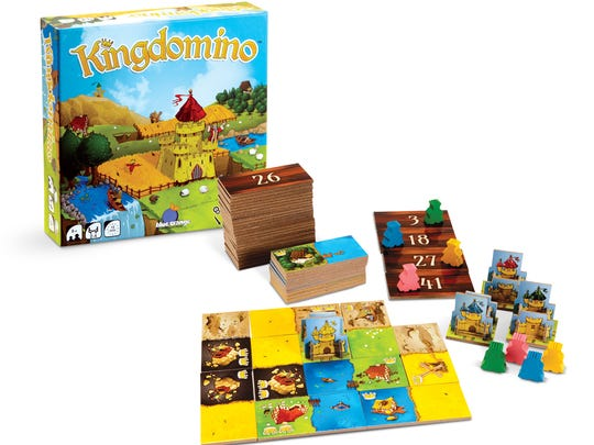 Kingdomino is a family strategy game that brings back