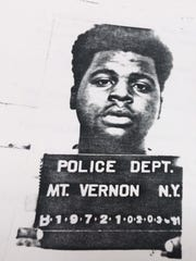 Police photo of Henry Thomas following his arrest for cocaine possession in February 1991