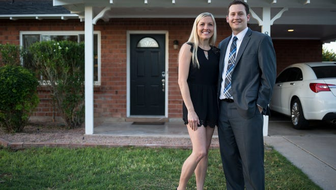 Millennials Billy Day and Jessica Simms bought a 1950s home in central Scottsdale in January.  It's close to their jobs in Tempe and Chandler as well as near their favorite restaurants and places to hang out.