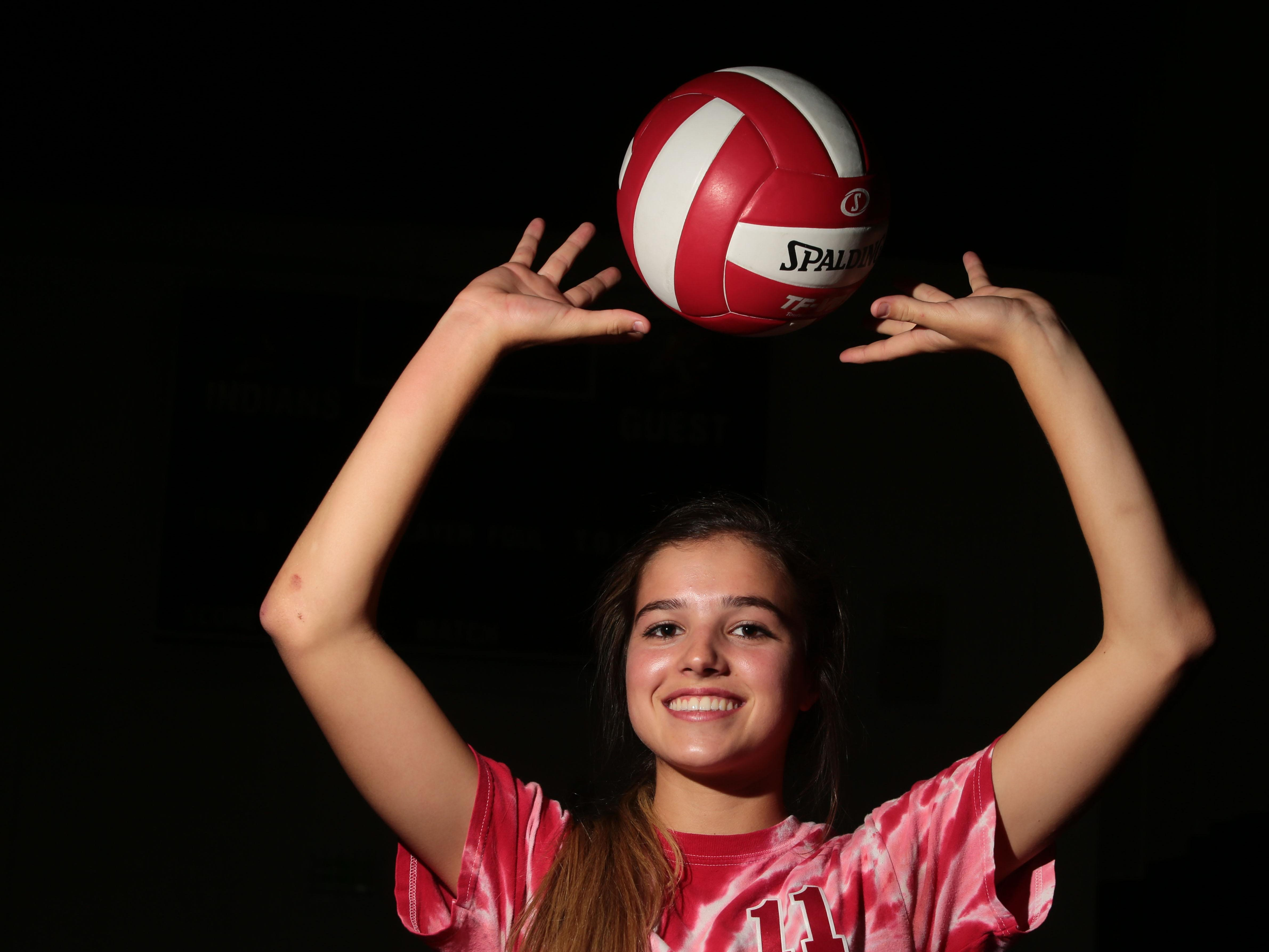 Palm Springs High School volleyball player Mary Lake is the Desert Sun's female Athlete of the year.