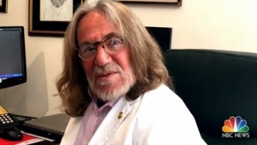 Dr. Harold Bornstein, Donald Trump's doctor, tells NBC News about his letter affirming the GOP nominee's excellent health.