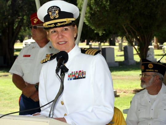 USN Capt. LeBlanc