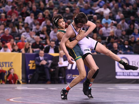 Wrestling State Championships, Day 3, at Boardwalk
