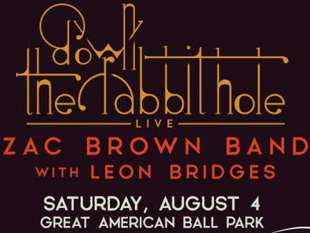 Win a pair of tickets to see Zac Brown Band and Leon Bridges. Enter 7/16-7/26.