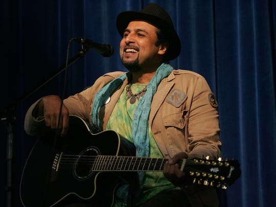 Tappan's Salman Ahmad, founder of  the Sufi rock band