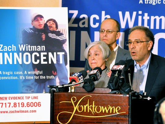 In this file photo, Sue and Ron Witman, parents of