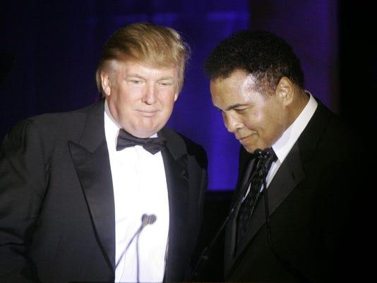 Donald Trump, Muhammad Ali