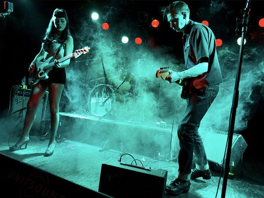 Messer Chups, a Russian surf rock band playing Asbury