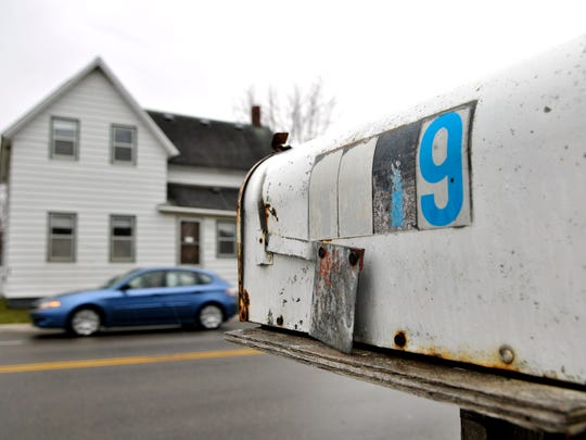 Missing or worn numbers can make finding an address difficult.