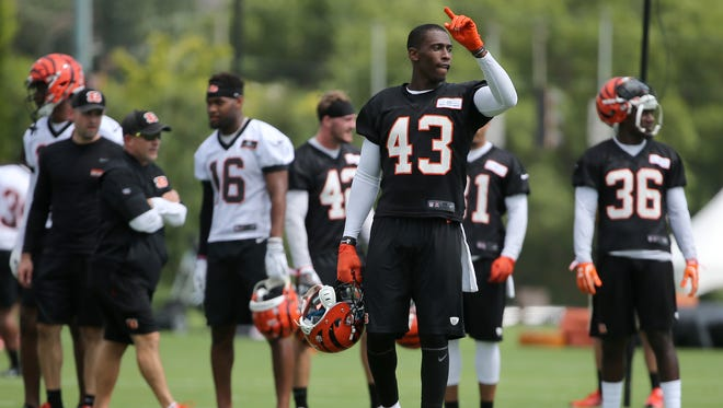 Cincinnati Bengals free safety George Iloka avoided a serious knee injury on Sunday, July 30, but could miss the rest of the preseason.