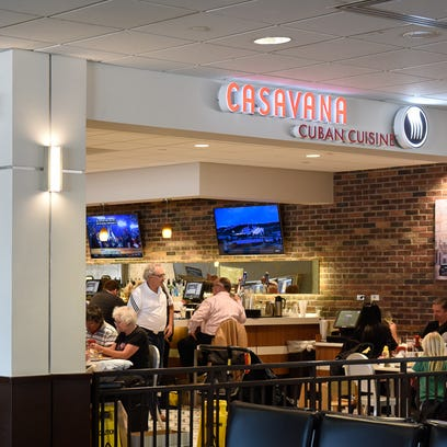 Florida's Ft. Lauderdale-Hollywood International Airport has added two branches of Casavana, a local chain specializing in Cuban cuisine.