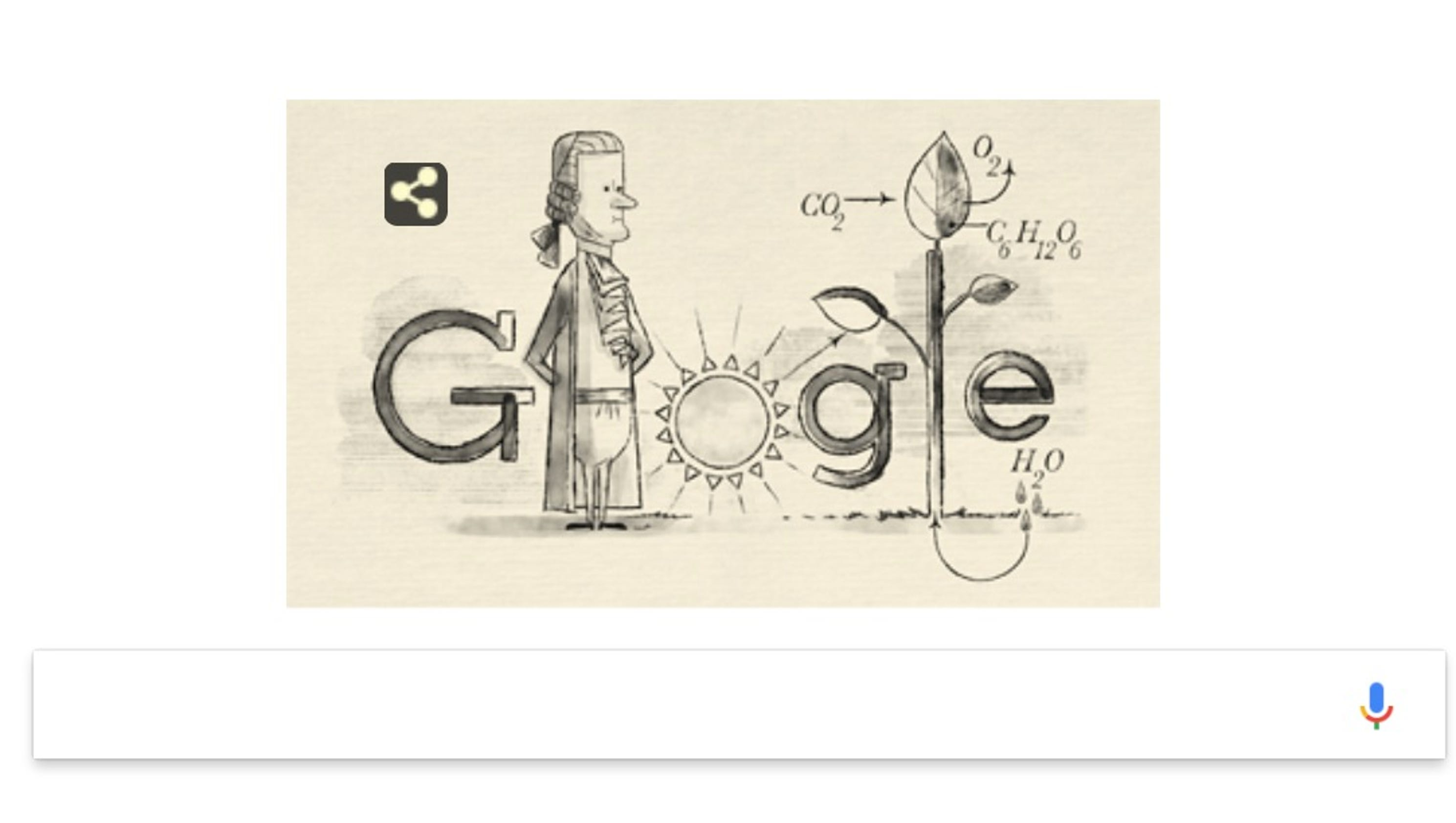 Jan Ingenhousz Google >> Jan Ingenhousz: Google Doodle honors father of photosynthesis