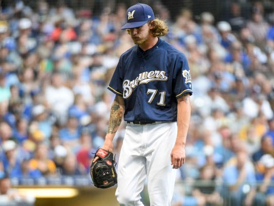 MLB: Kansas City Royals at Milwaukee Brewers