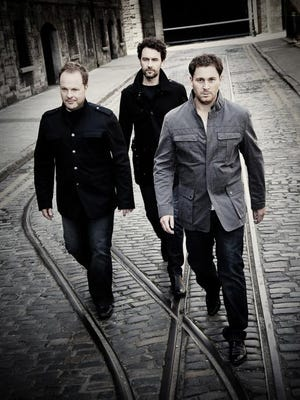 The Celtic Tenors will play the DuPont Theatre in late November.