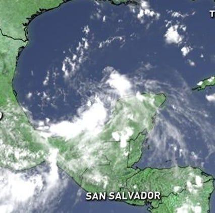 A disturbance near Mexico has formed into Tropical Depression 5.