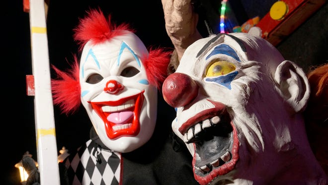 A student brought a clown mask and two kitchen knives to East Lansing's MacDonald Middle School on Friday, Oct. 7, 2016, police said.