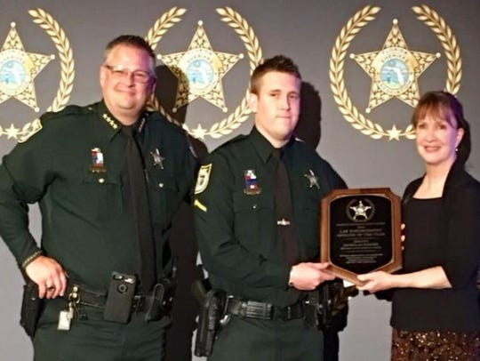 Nick Worthy received the Deputy of the Year award in
