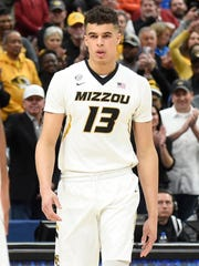 Missouri Tigers forward Michael Porter Jr. takes the