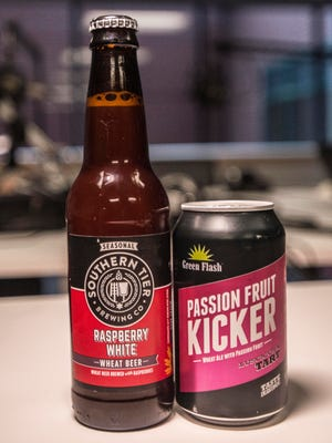 Jeff and Jason try a Southern Tier Raspberry White Wheat Beer and a Green Flash Passion Fruit Kicker on this episode of It's the Beer Talking.