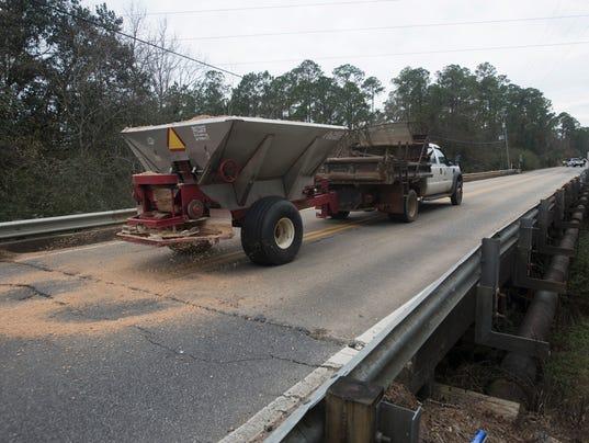 Escambia County Bridge Sanding
