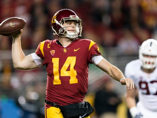 USC's Sam Darnold is expected to be the No. 1 pick