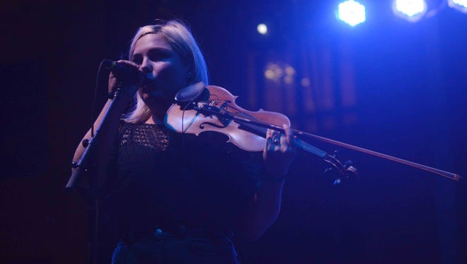 Charity Rose Thielen will perform with the Head and the Heart on July 25 at the Farm Bureau Insurance Lawn at White River State Park.