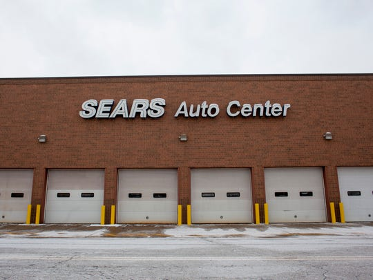 The Sears Auto Center pictured Wednesday, Jan. 13, 2015 in Fort Gratiot. Sears will be closing in March.