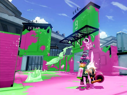 """Splatoon"" for the Wii U"