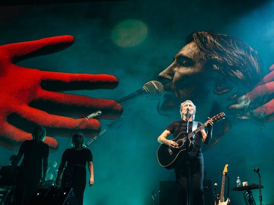 "Roger Waters' ""Us + Them"" has been greeted with some controversy, but Waters has said the show's prevailing theme is about love."