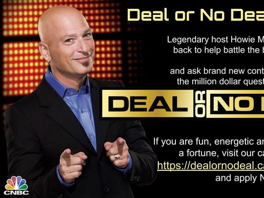'Deal or No Deal' producers issued this casting call flyer to find contestants for the show's upcoming revival on CNBC.