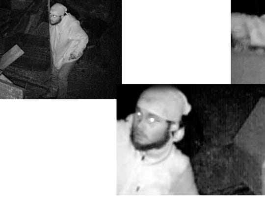 The Doña Ana County Sheriff's Office is searching for at least three men who are believed to have stolen several radiators in two separate incidents in the 2900 block of El Camino Real.