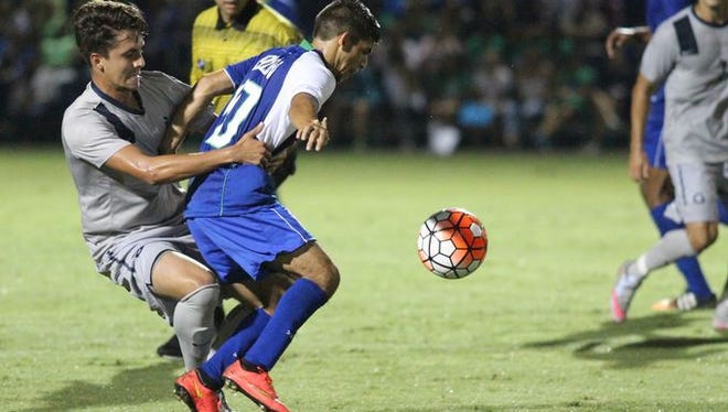 FGCU men's soccer is ranked No. 19 by Top Drawer Soccer after a season-opening draw with No. 4 Georgetown on Friday night.