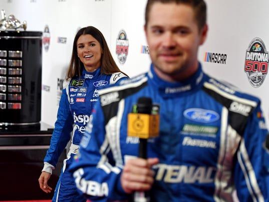 USP NASCAR: DAYTONA 500-MEDIA DAY S CAR USA FL