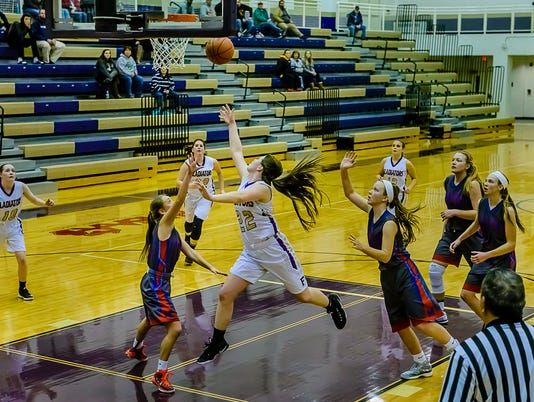 Mason vs Fowlerville Girl's Basketball