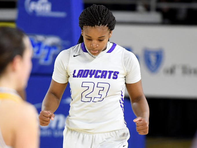 Haywood's Jamirah Shutes scored a total of 43 points