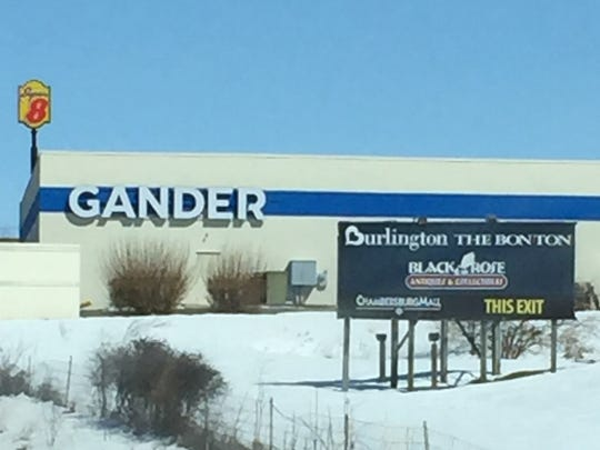 Gander Outdoors is now open near the entrance to Chambersburg