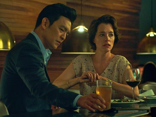 "John Cho and Parker Posey star in ""Columbus."""