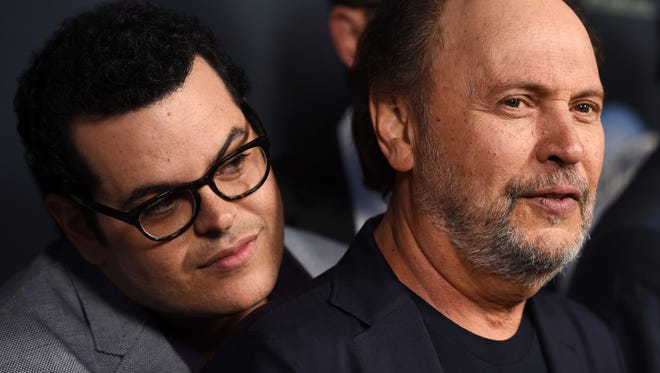 """Josh Gad, left, and Billy Crystal star in FX's new series """"The Comedians."""""""
