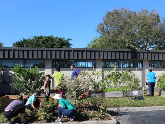 Community garden started by Rockwell Collins is helping to feed the poor.