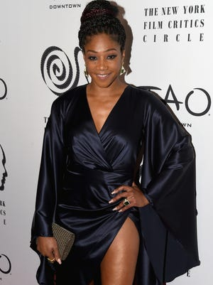 Tiffany Haddish attends the 2017 New York Film Critics Awards at Tao Downtown on Wednesday in New York.