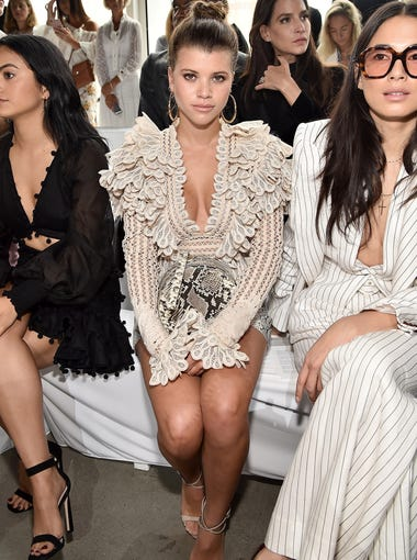 Sofia Richie also made an appearance.