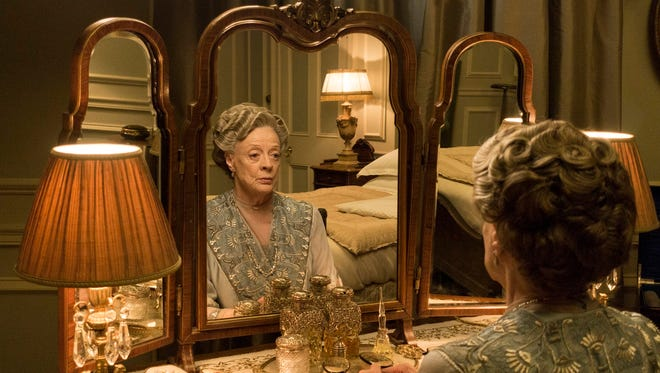 Violet, Dowager Countess of Grantham (Maggie Smith) reflects in the final season of 'Downton Abbey.'