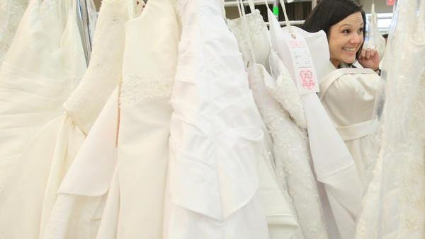 The Delaware Breast Cancer Coalition hosts its final Designer Bridal Gown Sale Saturday at the Delaware State Fair Grounds.