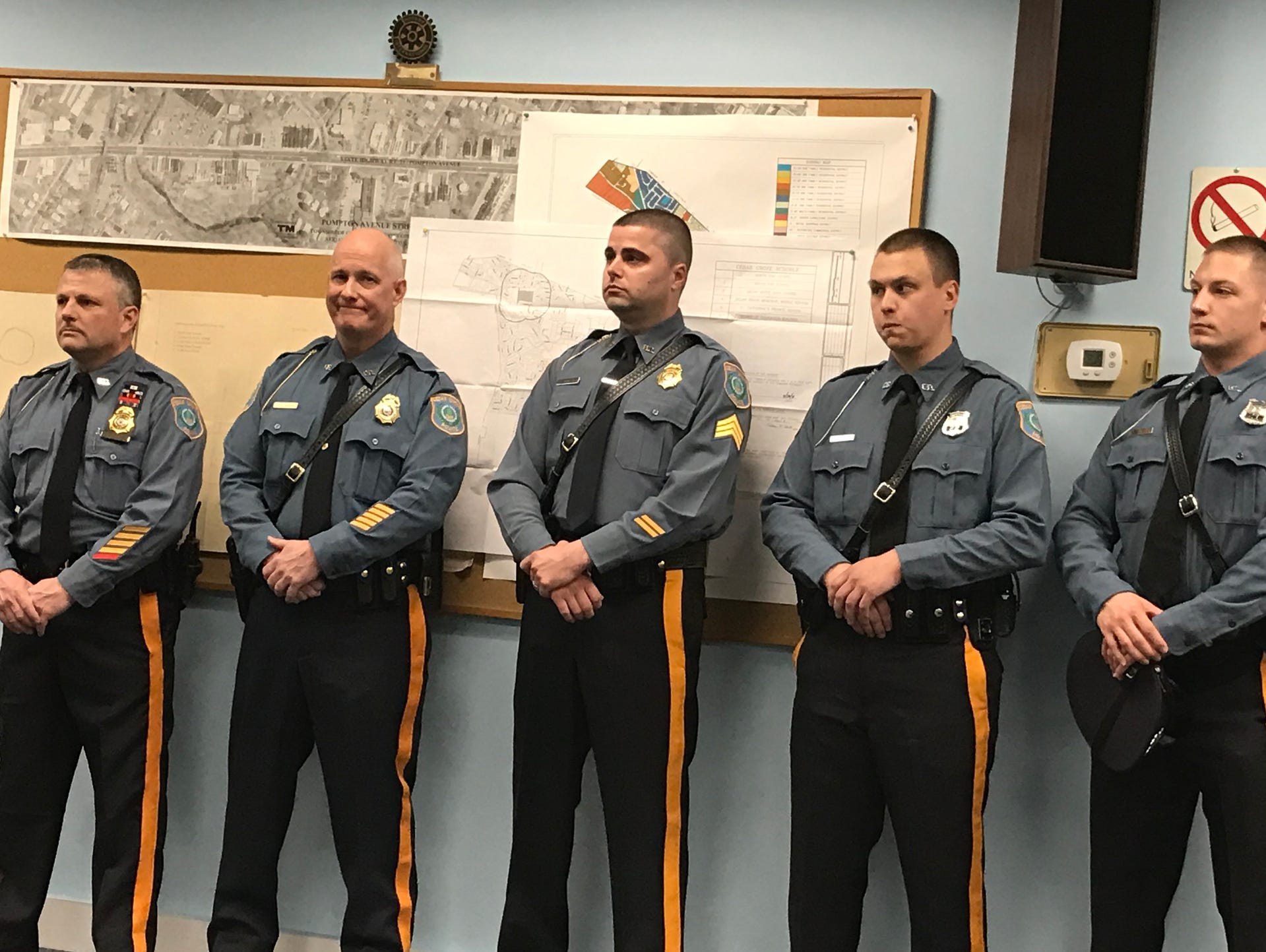 photos cedar grove police department wel es new officers