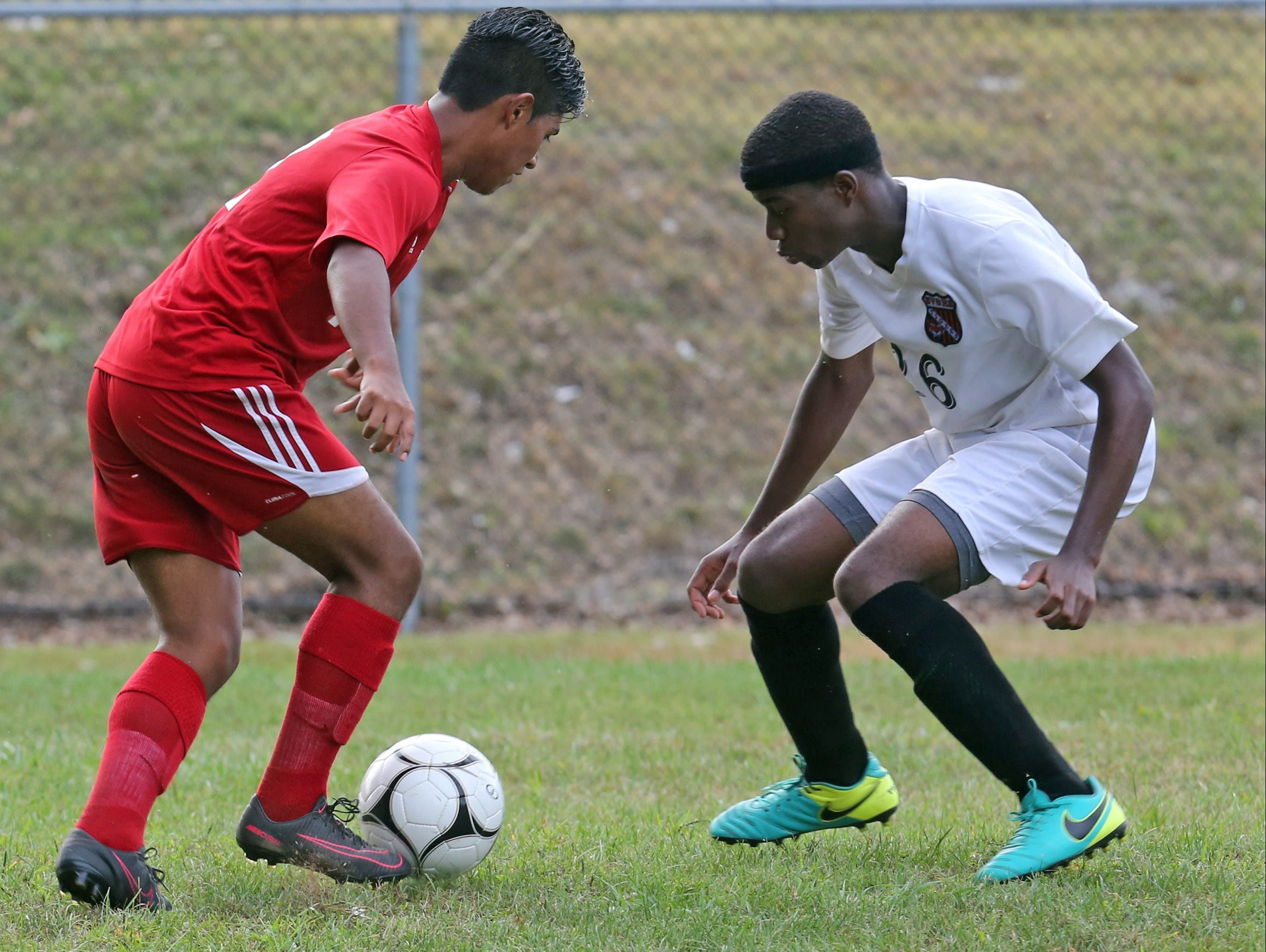 North Rockland plays Spring Valley at Spring Valley High School on Sept. 20, 2016.