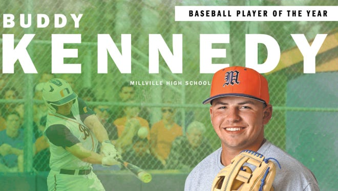 Millville High School junior third baseman Buddy Kennedy is The Daily Journal baseball Player of the Year