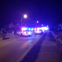 An IMPD officer was shot in the arm during a two-hour standoff on the south side, according to Fox 59.