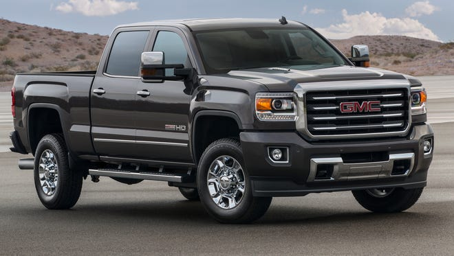 Here's one example of a high-end pickup: the 2015 GMC Sierra HD All Terrain