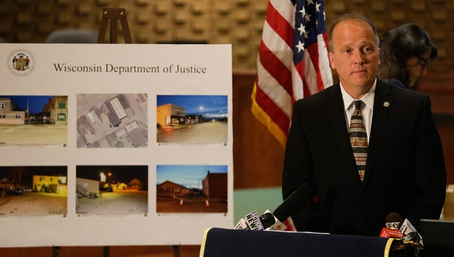 Attorney General Brad Schimel announced May 6 that charges would not be brought against Neenah police officers in the death of Michael L. Funk.