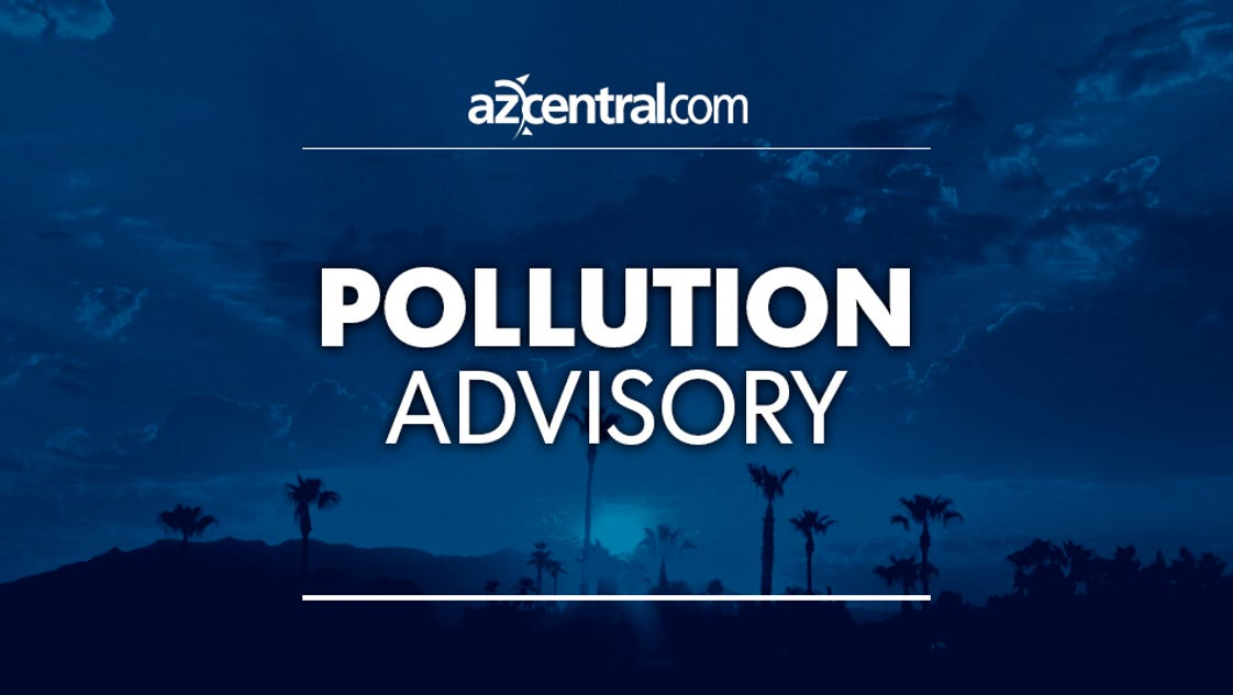 High Pollution Advisory Issued For Phoenix Area Friday